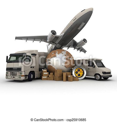 przewóz, logisty - csp25910685