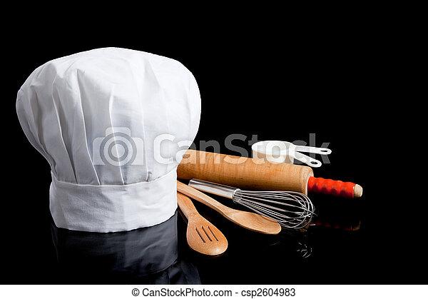 przybory, gotowanie, tok - csp2604983
