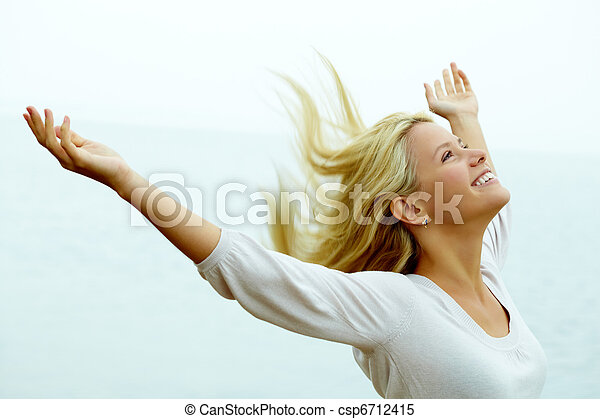 radość, wolność - csp6712415