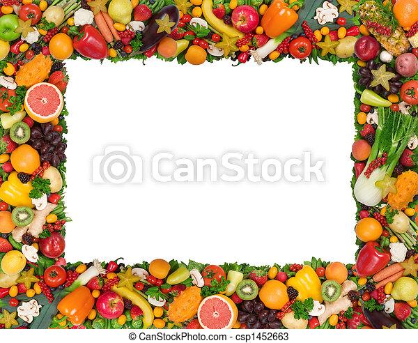 roślina, ułożyć, owoc - csp1452663