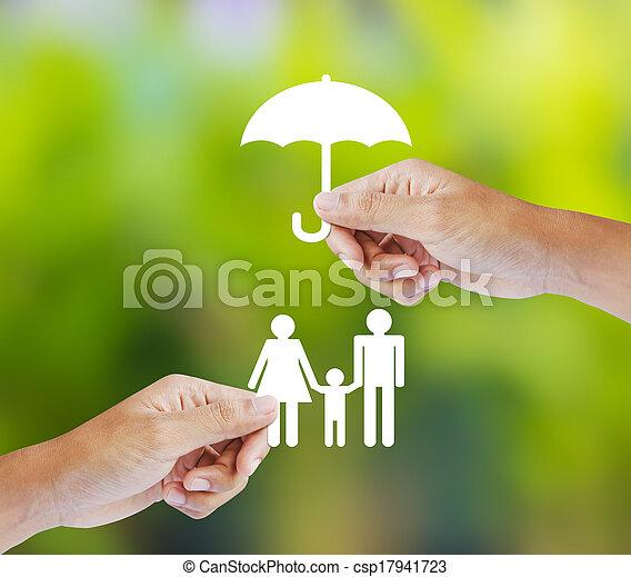 rodzina, pojęcie, ubezpieczenie - csp17941723