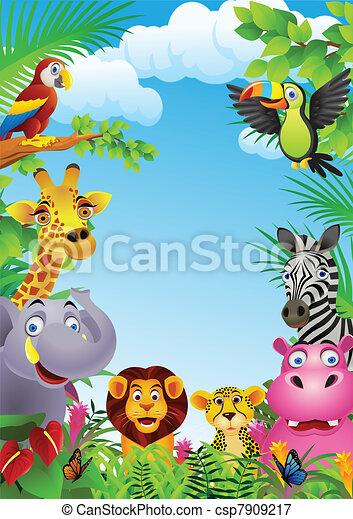 rysunek, zwierzę - csp7909217