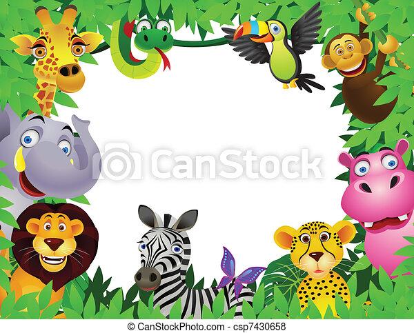 rysunek, zwierzę - csp7430658