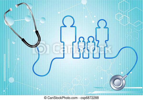 sanitarne ubezpieczenie, rodzina - csp6872288