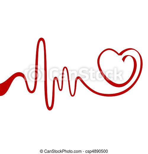 serce, abstrakcyjny - csp4890500