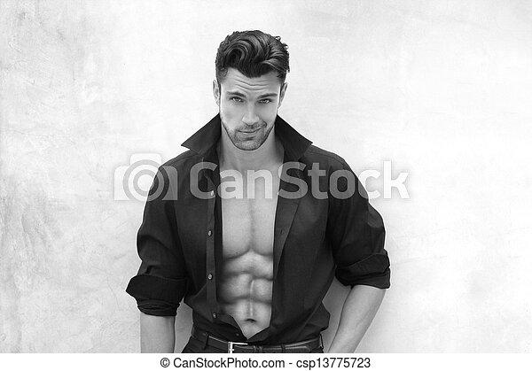 sexy, człowiek - csp13775723