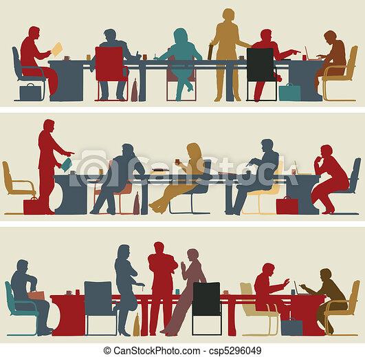spotkanie, handlowy - csp5296049