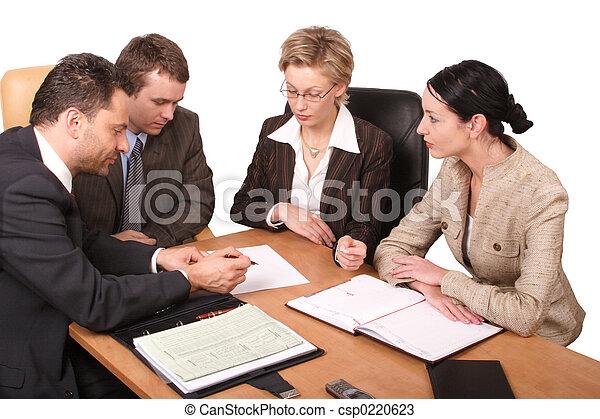 spotkanie, handlowy - csp0220623