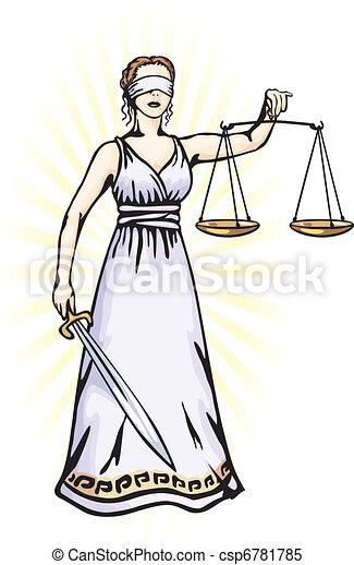 sprawiedliwość, -, bogini, themis - csp6781785