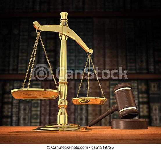 sprawiedliwość, obsłużony - csp1319725