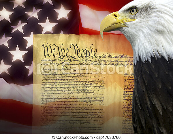 stany, -, zjednoczony, patriotyzm, ameryka - csp17038766
