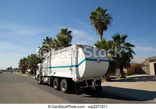 stany, zjednoczony, wózek, odpadki - csp2371611
