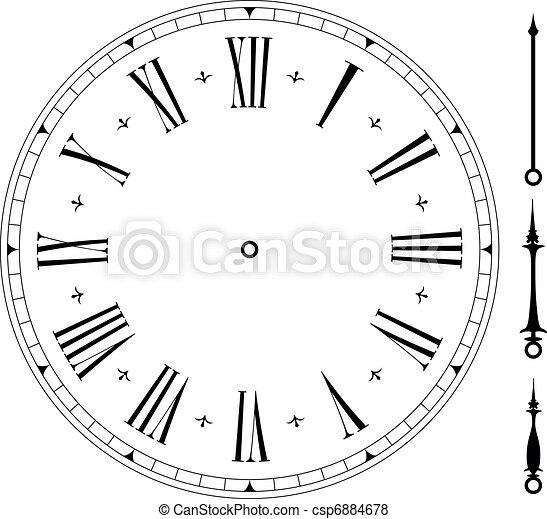 stary, clock01 - csp6884678