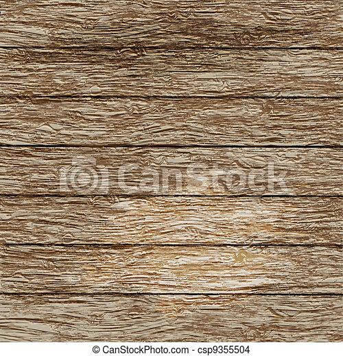 stary, drewniana budowa - csp9355504
