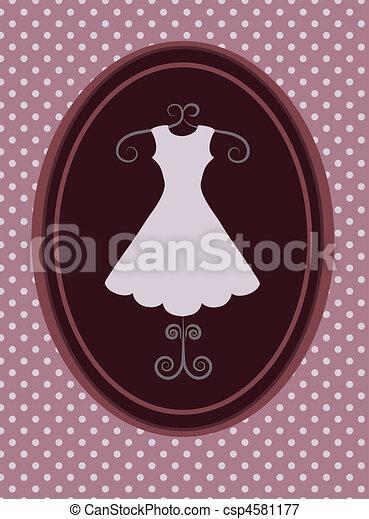 strój, fason, shop., ilustracja, wektor, -1, rerto - csp4581177