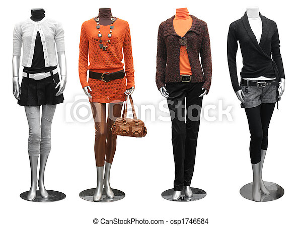 strój, manekin, fason - csp1746584