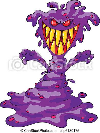 straszliwy, potwór, fiołek - csp6130175