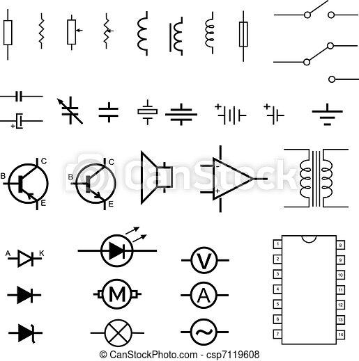 symbolika, elektronowy - csp7119608