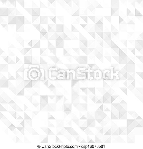 szary, geometryczny, seamless, struktura - csp16075581