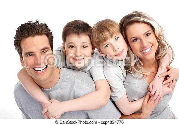 szczęśliwa rodzina - csp4834776