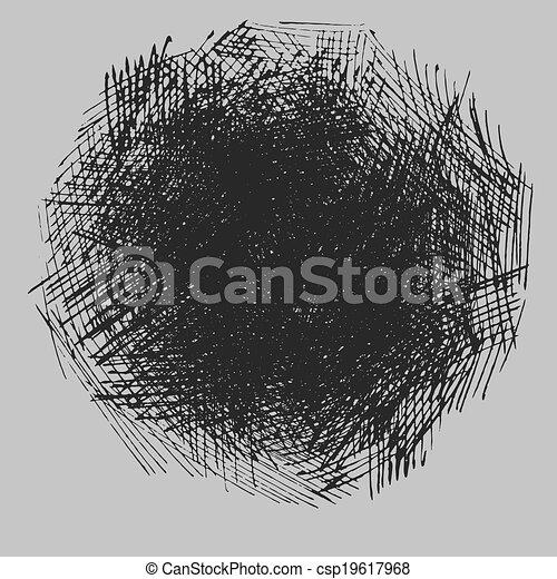 szorstki, wylęgając, rysunek, struktura - csp19617968