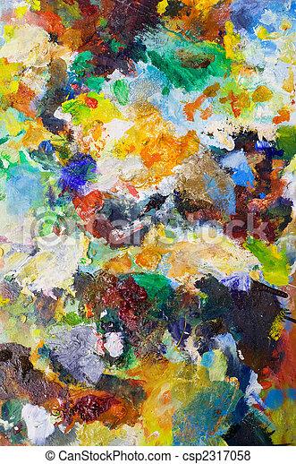 sztuka, kolor, tła - csp2317058