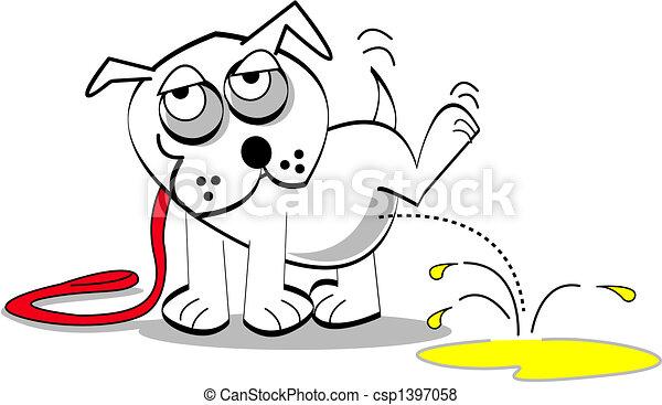 sztuka, pies, zacisk - csp1397058