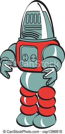 sztuka, robot, zacisk - csp1396818
