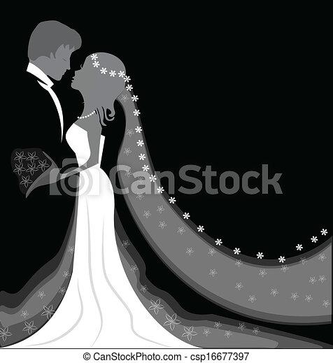 tło, ślub - csp16677397