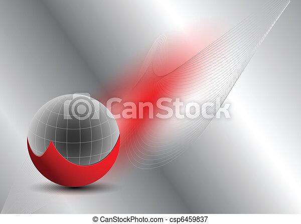 tło., abstrakcyjny, handlowy - csp6459837