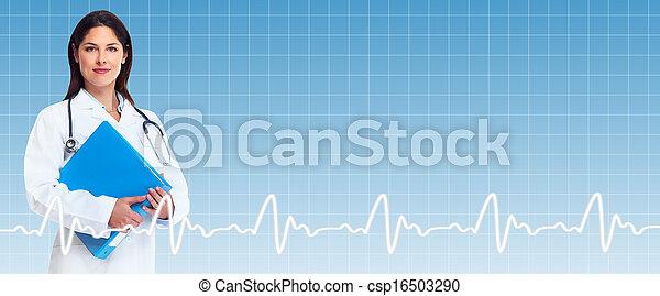 tło., healthcare - csp16503290