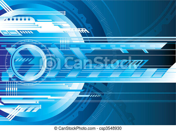 tech, cyfrowy - csp3548930