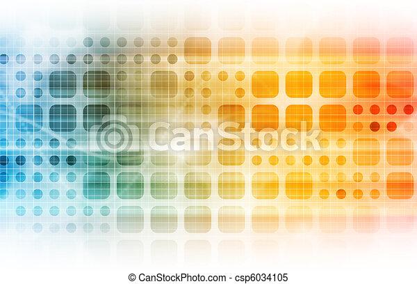 technologia, handlowy - csp6034105
