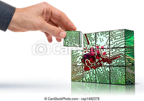 technologia, tworzenie - csp1492378