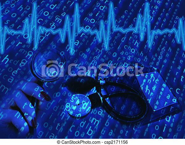 temat, medyczny - csp2171156