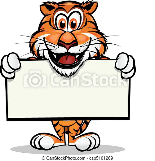 tiger, maskotka, sprytny - csp5101269