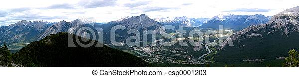 townsite, banff - csp0001203