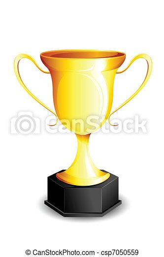 trofeum, złoty - csp7050559