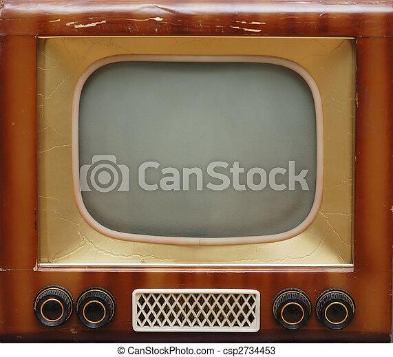 tv wystawiają, stary - csp2734453