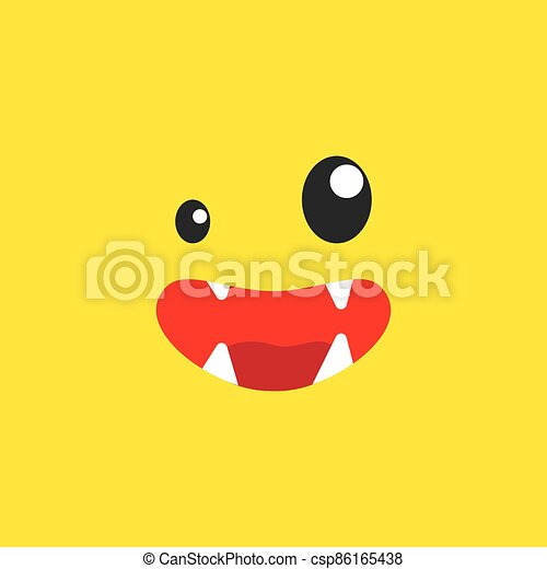 uśmiech, usta, potwór - csp86165438