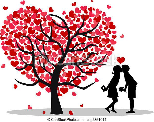 valentines dzień - csp8351014