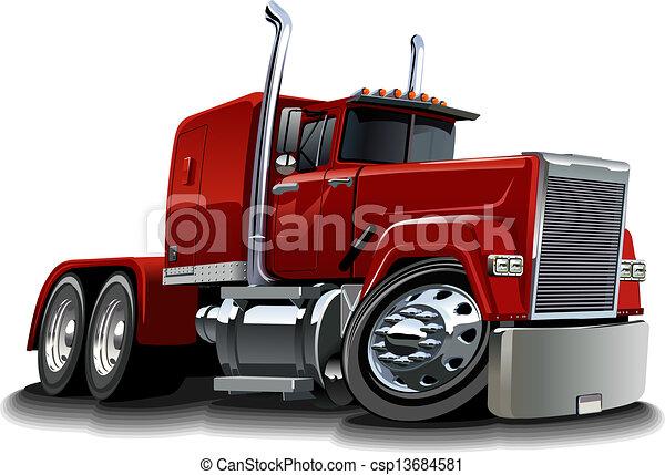 wózek, rysunek, pół - csp13684581