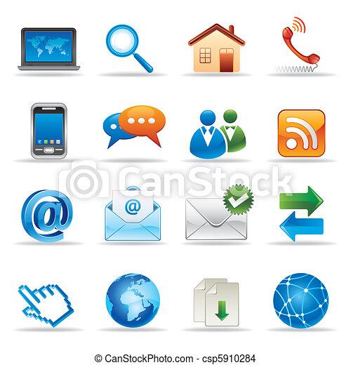 website, internetowe ikony - csp5910284