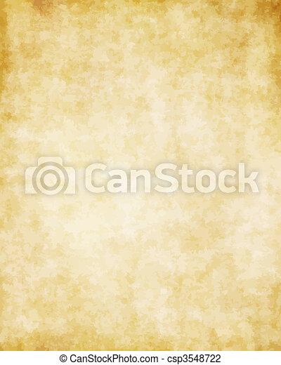 wielki, stary, struktura, papier, tło, pergamin - csp3548722