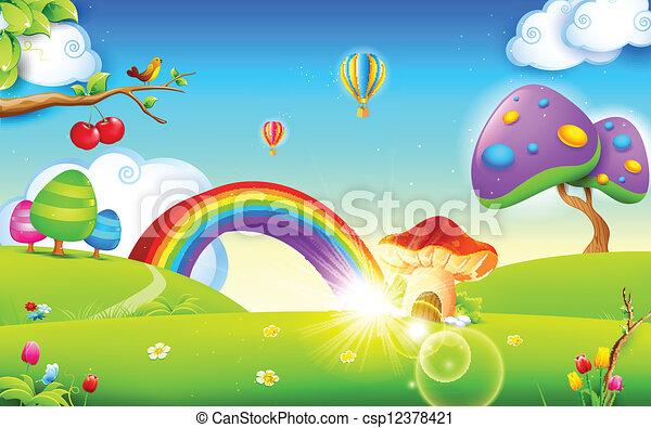 wiosna, natura, pora - csp12378421