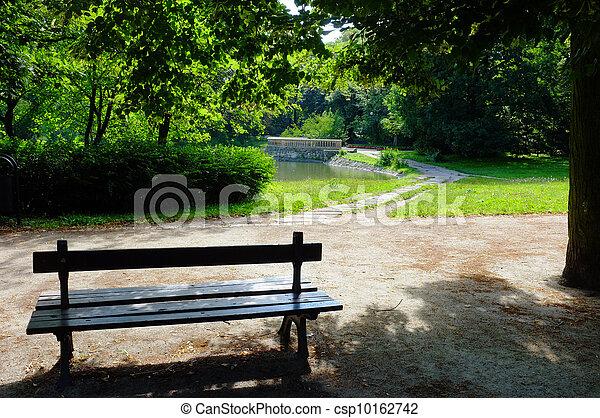 wiosna, park, czas - csp10162742