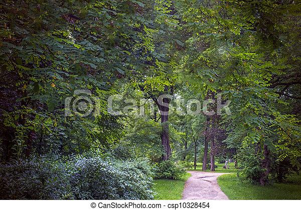 wiosna, park, czas - csp10328454