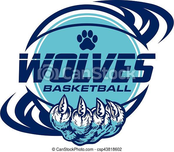wolves, koszykówka - csp43818602