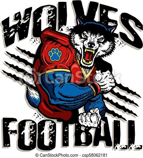 wolves, piłka nożna - csp58062181