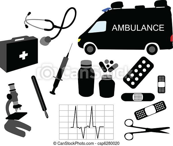 wyposażenie, medyczny - csp6280020